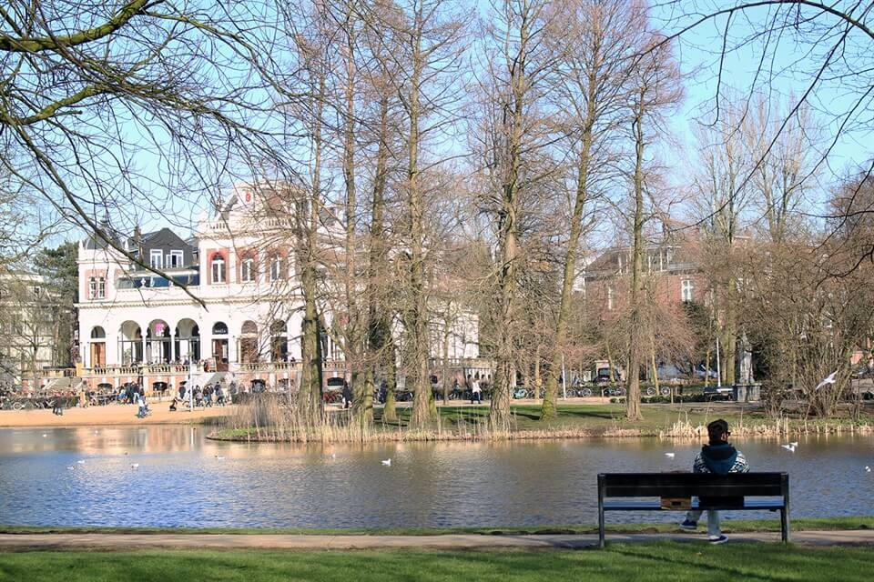 In photos: Amsterdam's Vondelpark in Early Spring