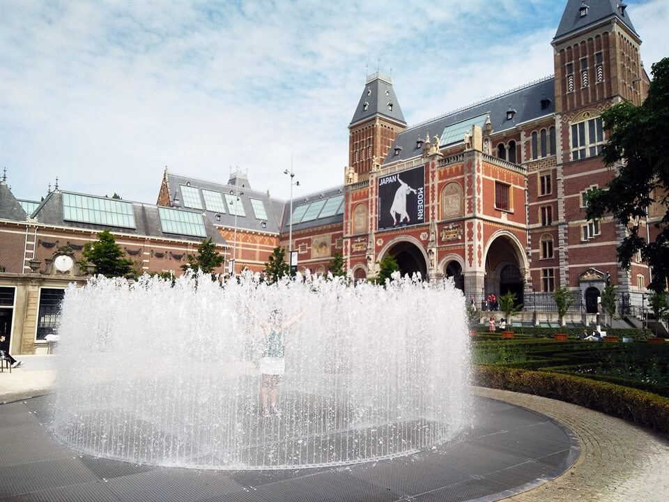 Amsterdam Travel: Free Art and Fun in Rijksmuseum Garden