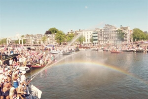 In photos: Pride's Canal Parade in Amsterdam