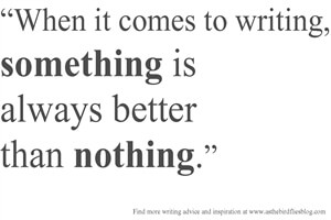 On Writing: Lessons Learned from Losing NaNoWriMo