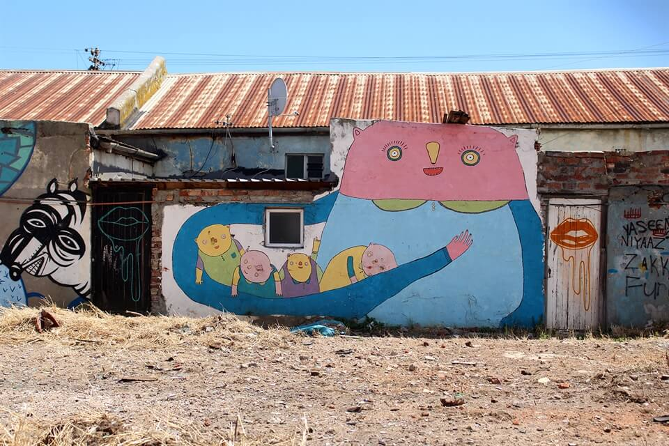 Travel Stories: The Power of Art (and Talking) in Woodstock, Cape Town.