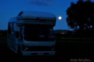 Travel Stories:The moon also rises in New Zealand
