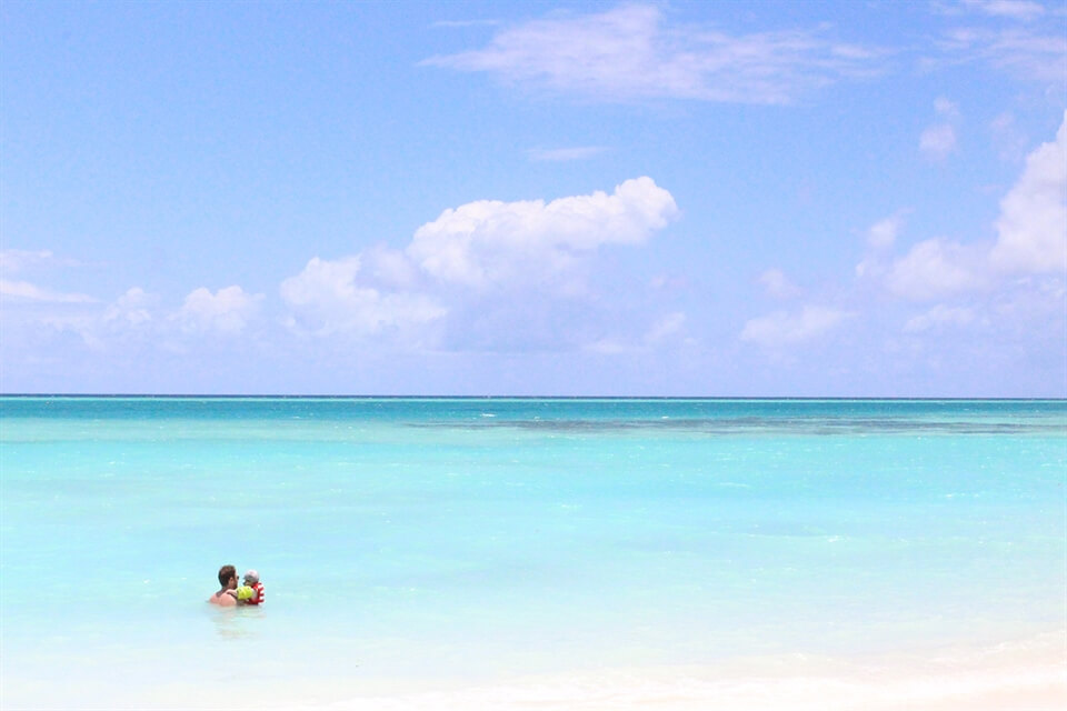 Tips for travelling to the Maldives with a toddler