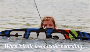 In photos: Learning to wakeboard