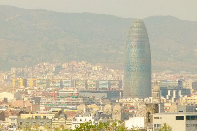 Day and Night: Torre Agbar, Barcelona