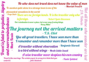 My favourite travel quotes... so far.