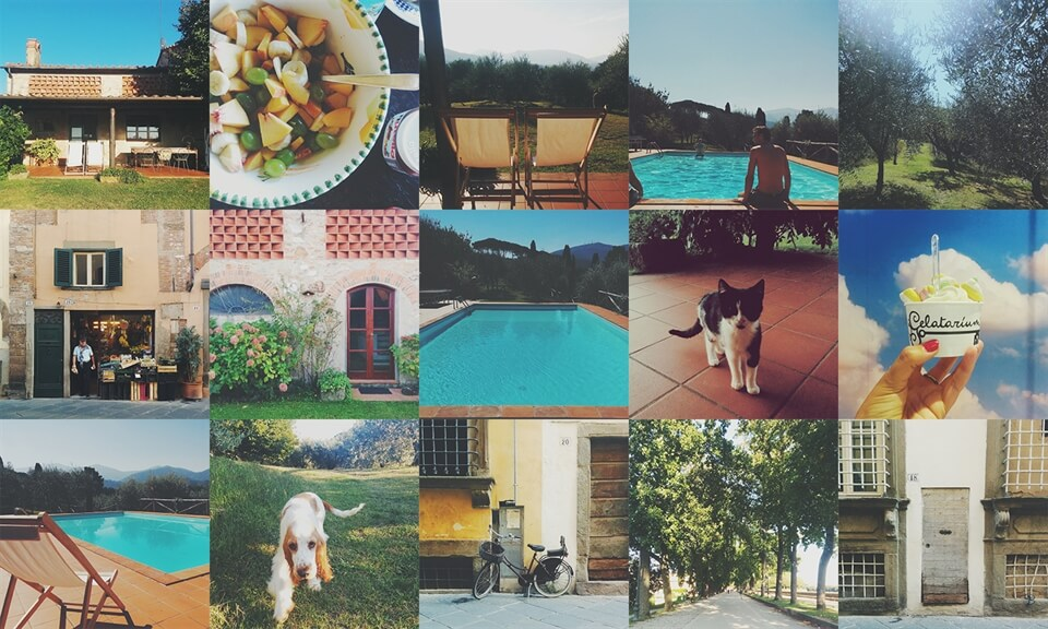 Fifteen Little Photos from Tuscany