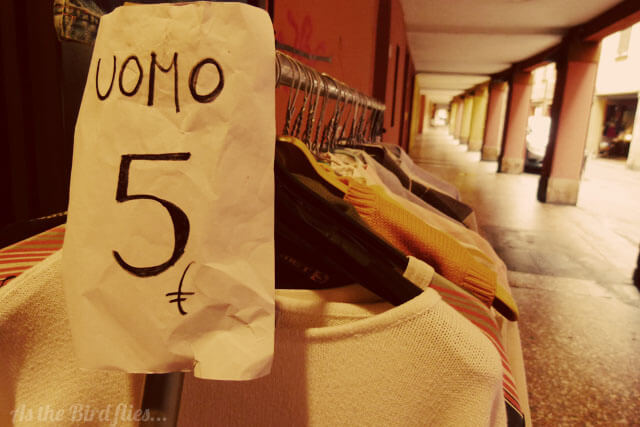 Bologna Travel: Vintage Shopping in Bologna