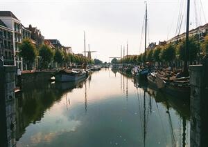 In photos: Delfshaven in Rotterdam