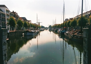 In photos: Delfshaven in Rotterdam