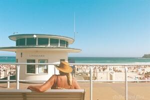 In photos: A day atBondi Beach