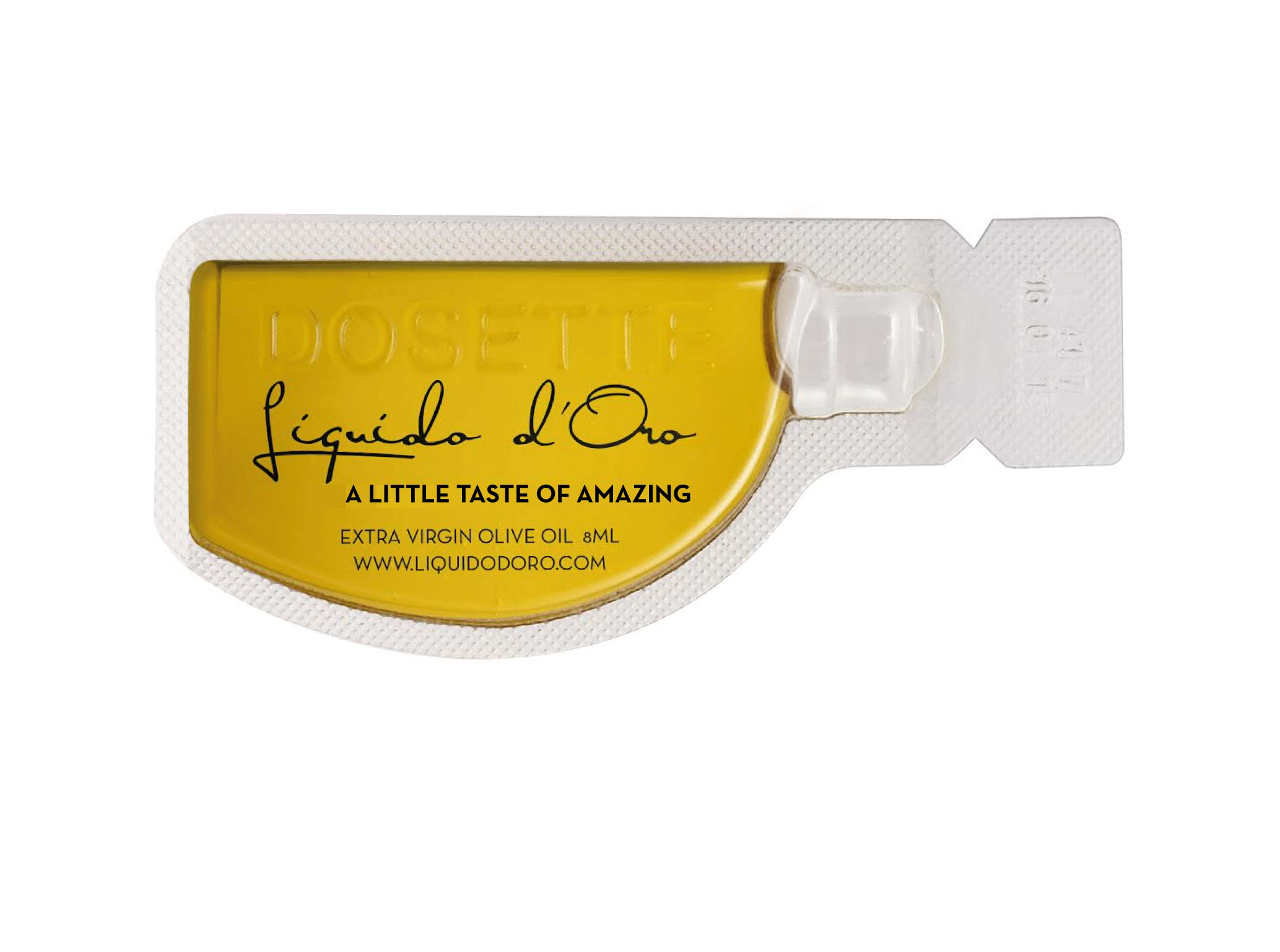 Olive oil Single serving | Liquido d'Oro