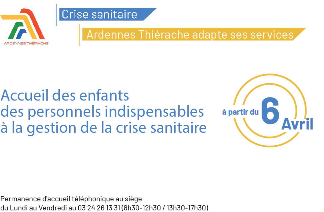 Crise sanitaire Ardennes thierache adapte ses services