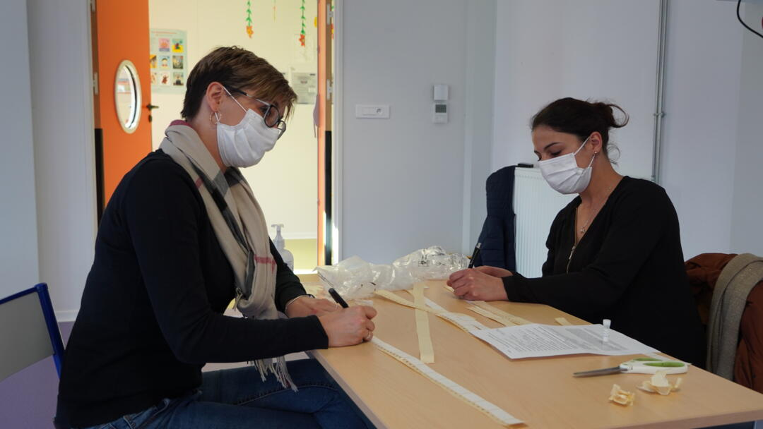 test salivaire covid Eteignieres