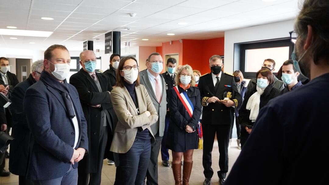Visite A de Montchalin Janvier 2021