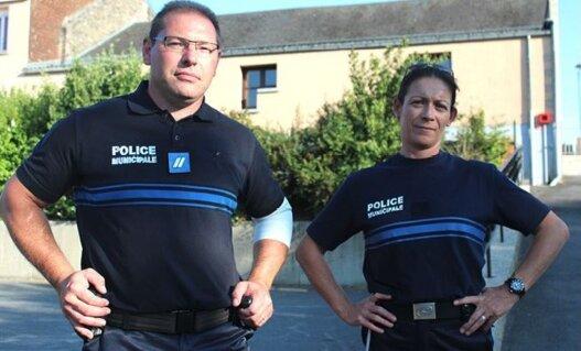 Police Municipale Audrey et Sébastien
