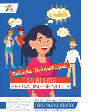 Concertation affiche balade Servion - Remilly-les-pothées