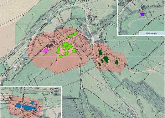 Plan agricole Vaux vilaine