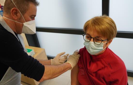vaccination personnel de sante 16 janvier