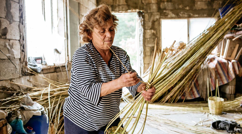 Hero basket weave