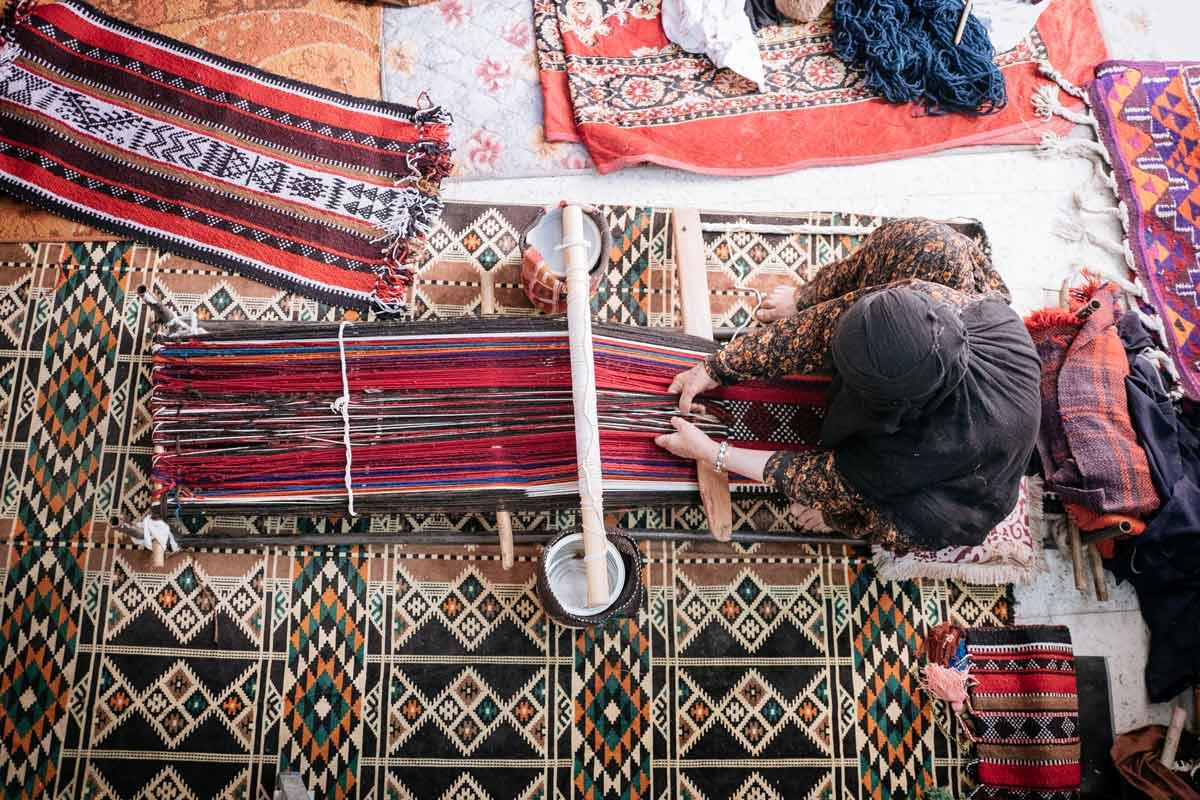 Atharna Sadu Weaving In Kuwait