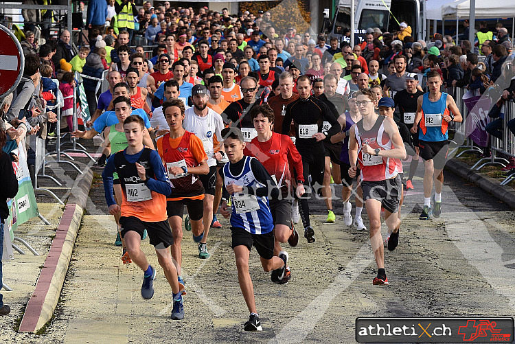 Course à Travers, Prilly (24.11.2018)