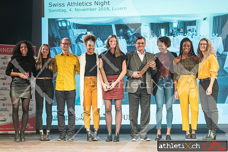 Swiss Athletics Night, Luzern (04.11.2018)