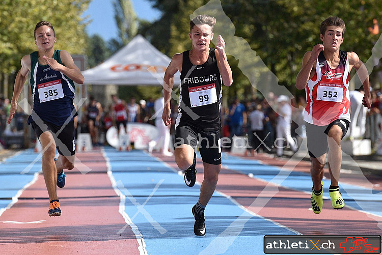 Swiss Athletics Sprint Schweizerfinal, Lausanne (23.09.2018)