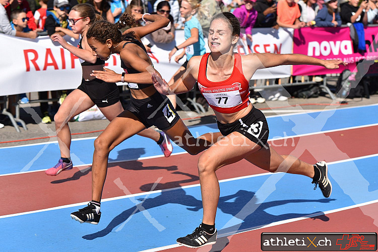 Swiss Athletics Sprint Schweizerfinal, Frauenfeld (21.09.2019)