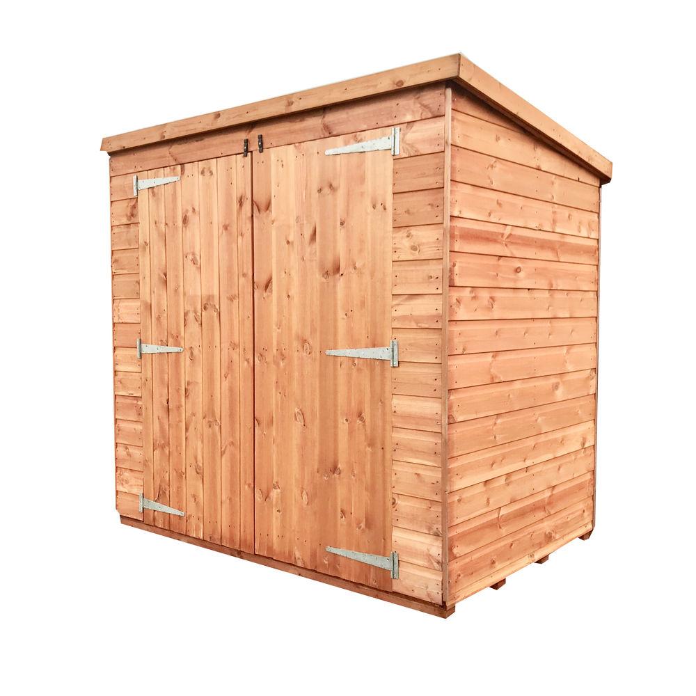 Double Door Wooden Tool Shed C
