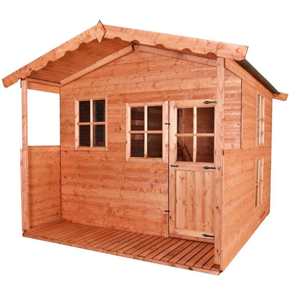 Forest Lodge Verandah - Wooden Playhouse