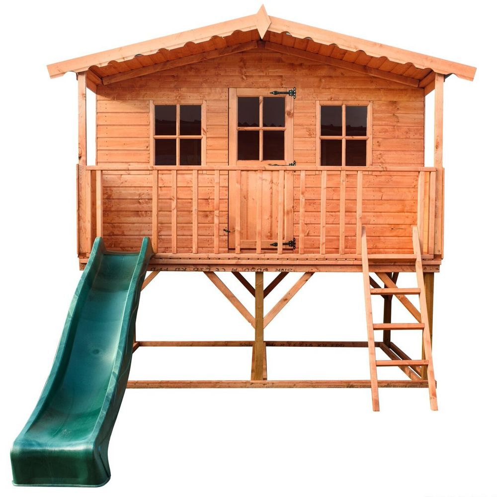 The Rose Tower Wooden Playhouse