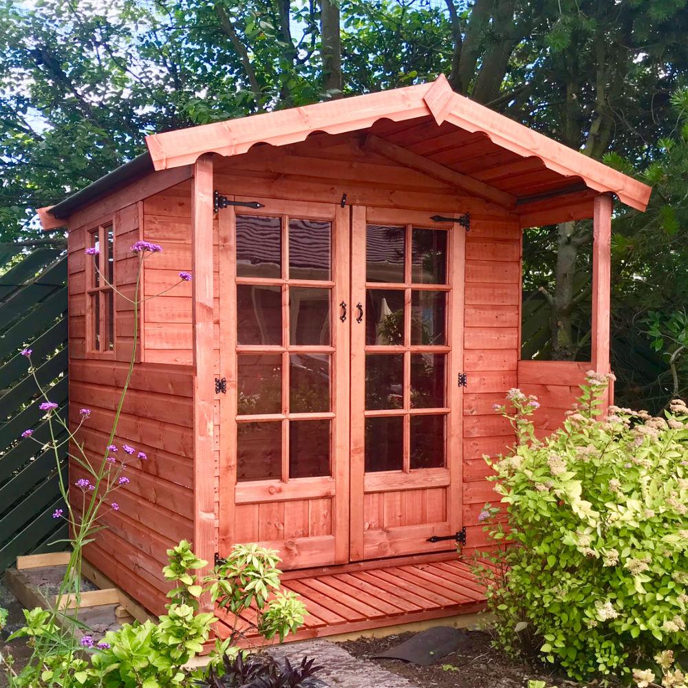 Wooden Summerhouse Verandah