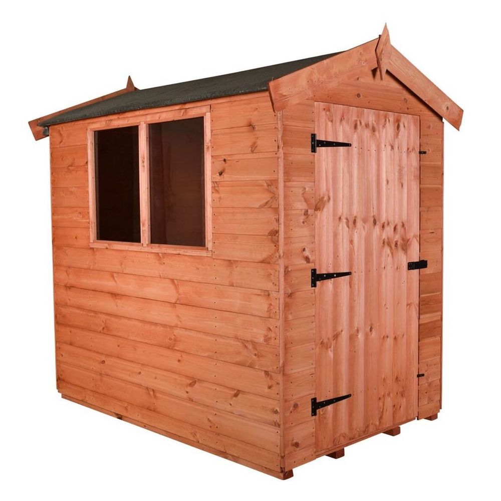 Wooden Tool Shed - Apex J