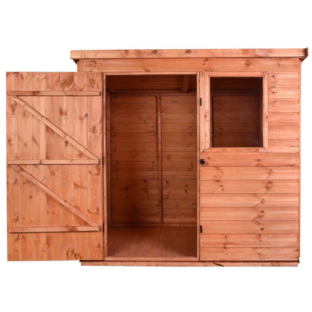 Wooden Tool Shed - Pent A