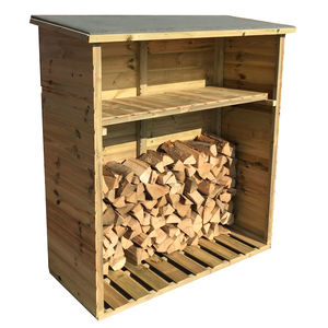 5x2 Pressure Treated Tounge & Groove Log Store
