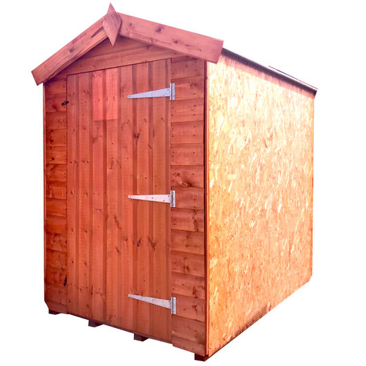 8x6 Budget Wooden Garden Shed - Apex I