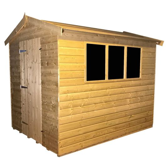 Tanalised Garden Shed - TITAN 2 Apex J