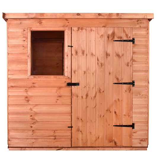 8x6 Wooden Garden Tool Shed - Pent B