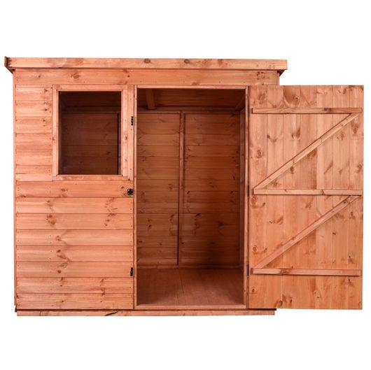 6x4 Wooden Garden Tool Shed - Pent B
