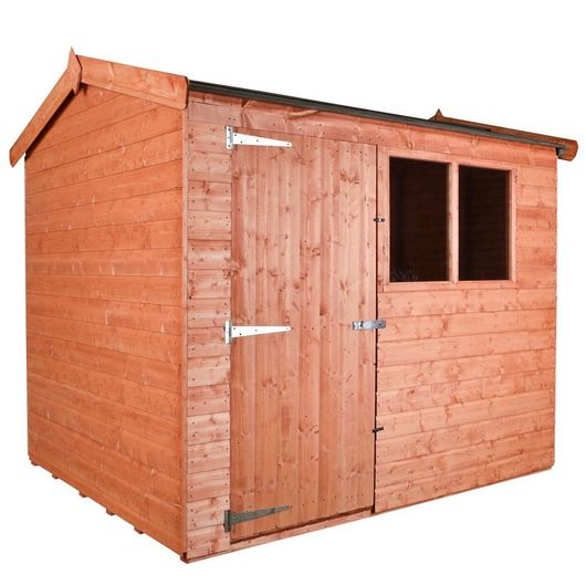 Wooden Shed - Workshop Apex F