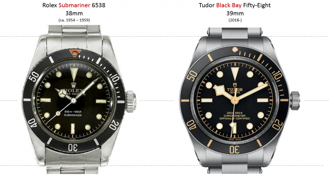 Rolex 6538 Vs Tudor Fifty Eight Rolex Forums Rolex Watch Forum