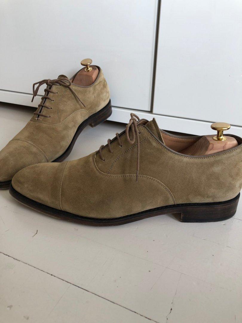 Tidssonen 0 Selges sko no wSnaH8SB0q str Heschung UK mokkaskinn 42 8 i R4Aj5L3