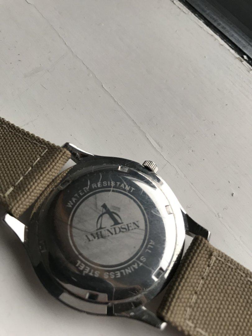 amundsen klokke