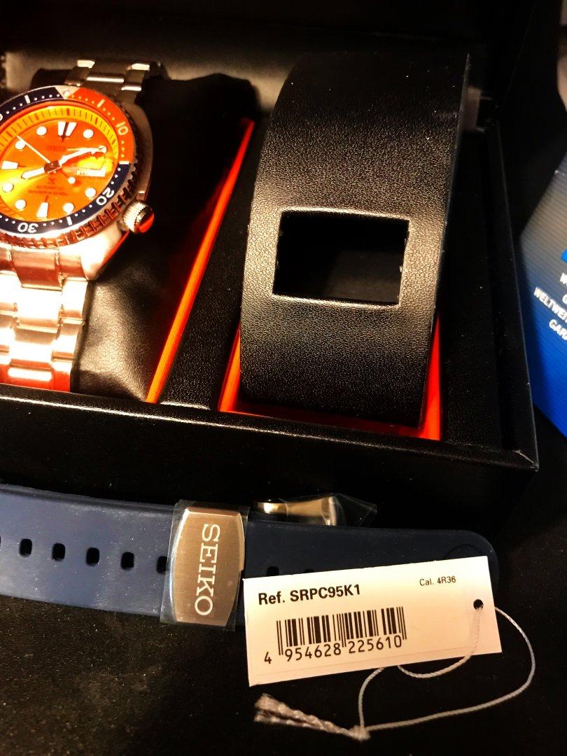 the best attitude 995ff f784f Solgt - Seiko SRPC95K1 - TURTLE - «Nemo» Limited Edition ...