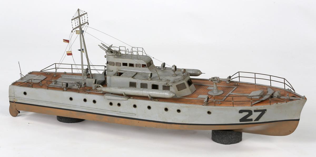 Vedette lance-torpilles modèle 1930  1479746188640324