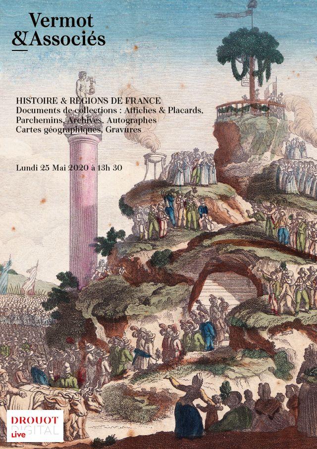Vente Histoire et Régions de France chez Vermot et Associés : 578 lots