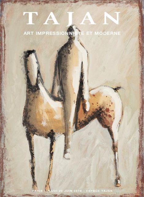 Vente Art Impressionniste et Moderne chez Tajan : 67 lots