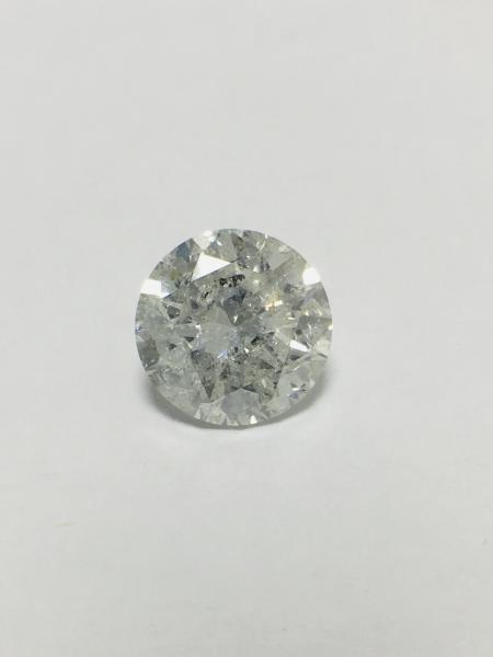 4.04ct round Brilliant cut natural diamond,h colour,i1 clarity,diamond is tested as [...]