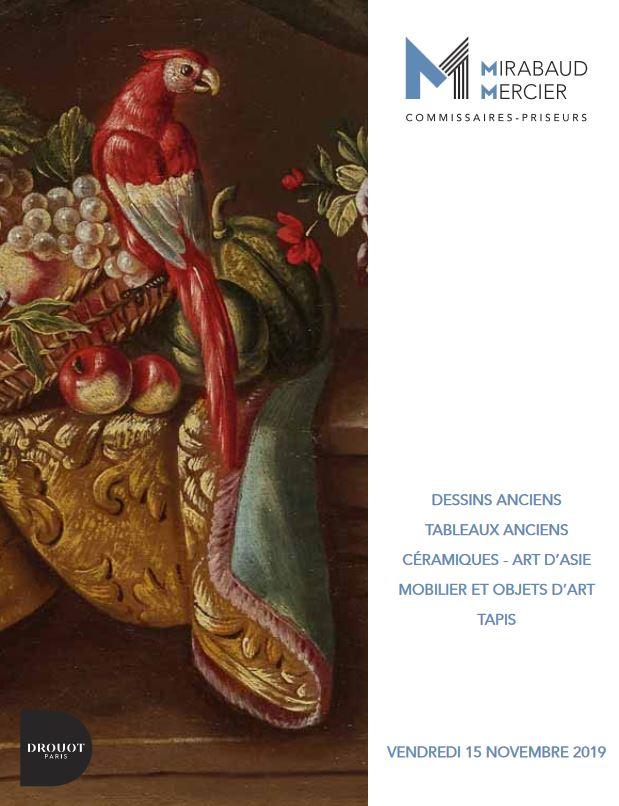 Vente Dessins & Tableaux anciens, Mobiliers Objets d'art  chez Mirabaud-Mercier  : 194 lots